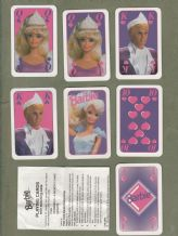 Collectable  playing cards /cards game  Barbie 1992. Barbie doll and Ken.